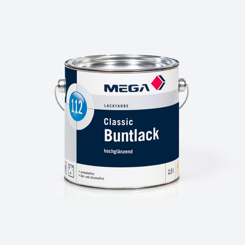 Lackfarbe Classic Buntlack 112 hochglaenzend Mega
