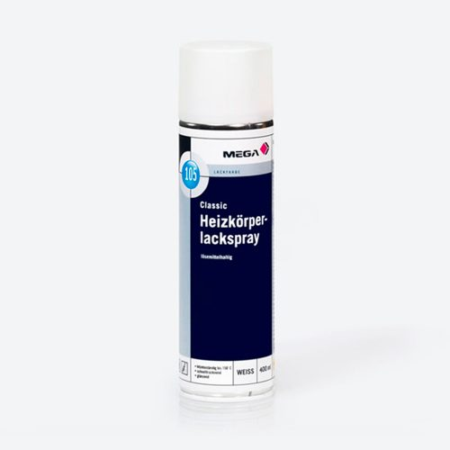 Lackfarbe Classic Heizkoerperlackspray 105 loesemittelhaltig Mega