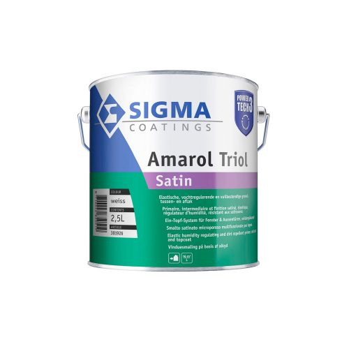 Sigma Amarol Triol Satin Power Tech 3