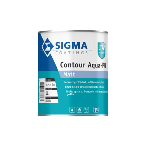 Sigma Contour Aqua PU Matt