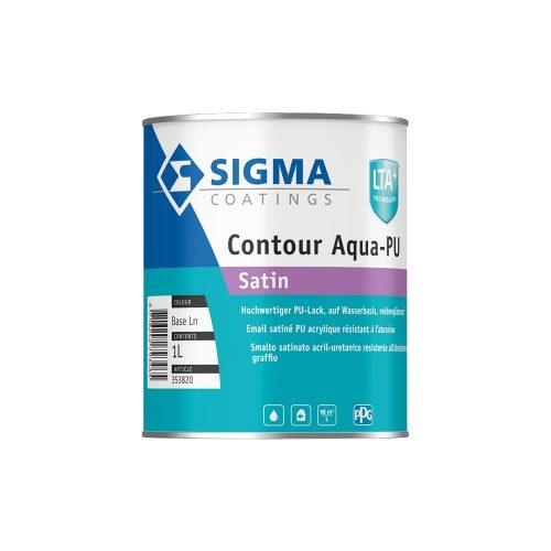 Sigma Contour Aqua PU Satin