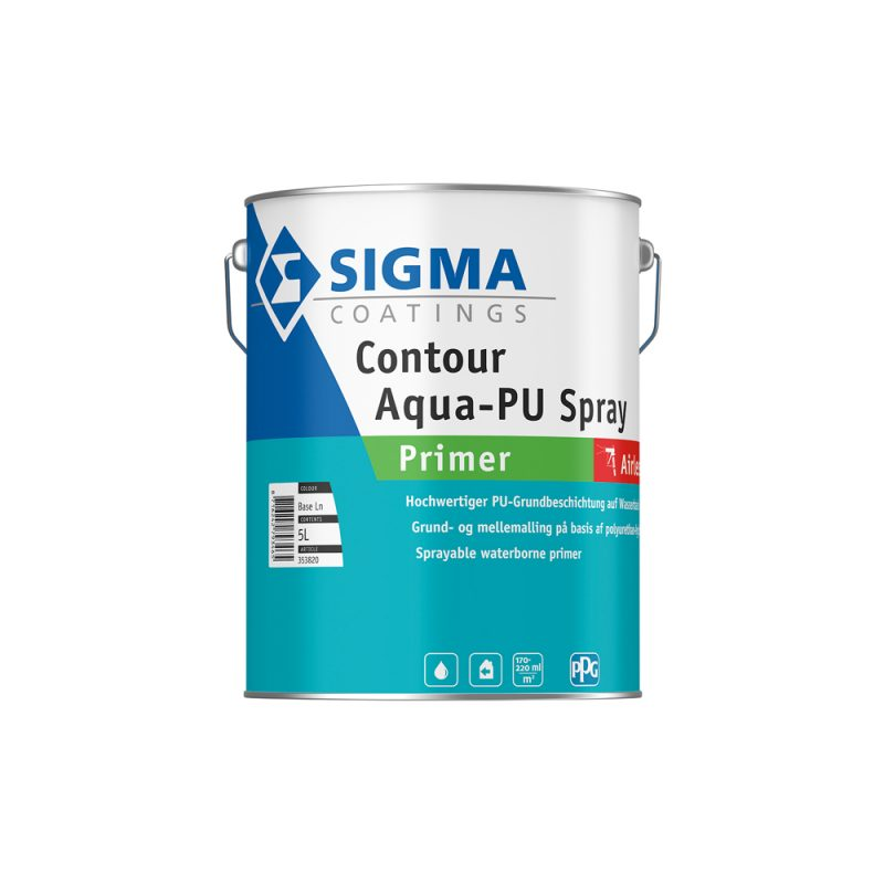 Sigma Contour Aqua-PU Spray Primer