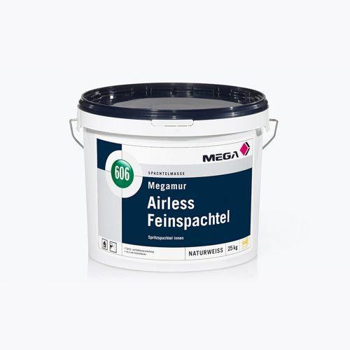 Spachtelmasse Megamur Airless Feinspachtel 606 Spritzspachtel innen Mega