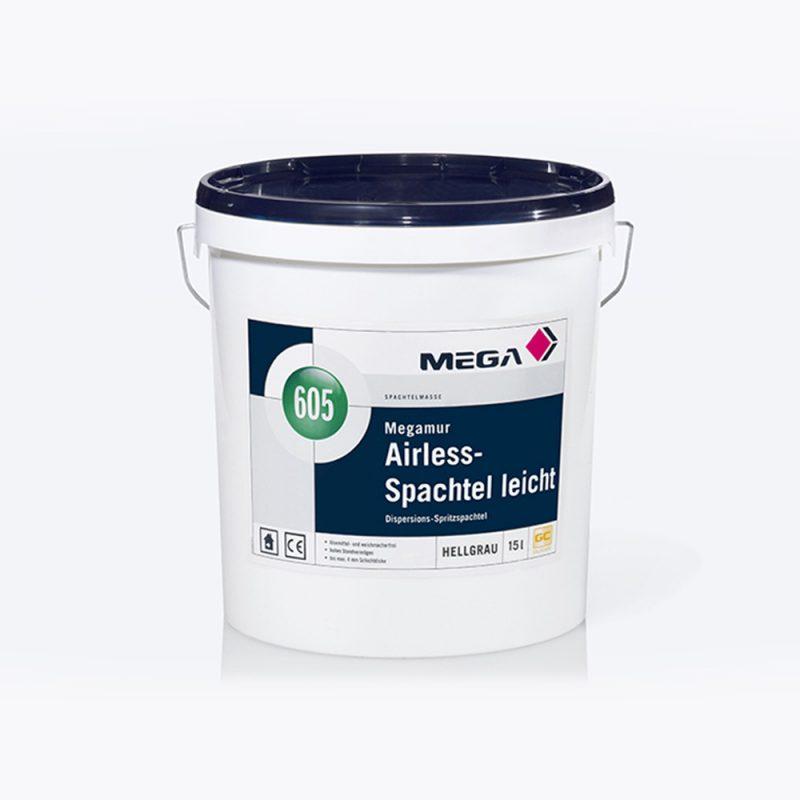 Spachtelmasse Megamur Airless-Spachtel leicht 605 Dispersions-Spritzspachtel Mega