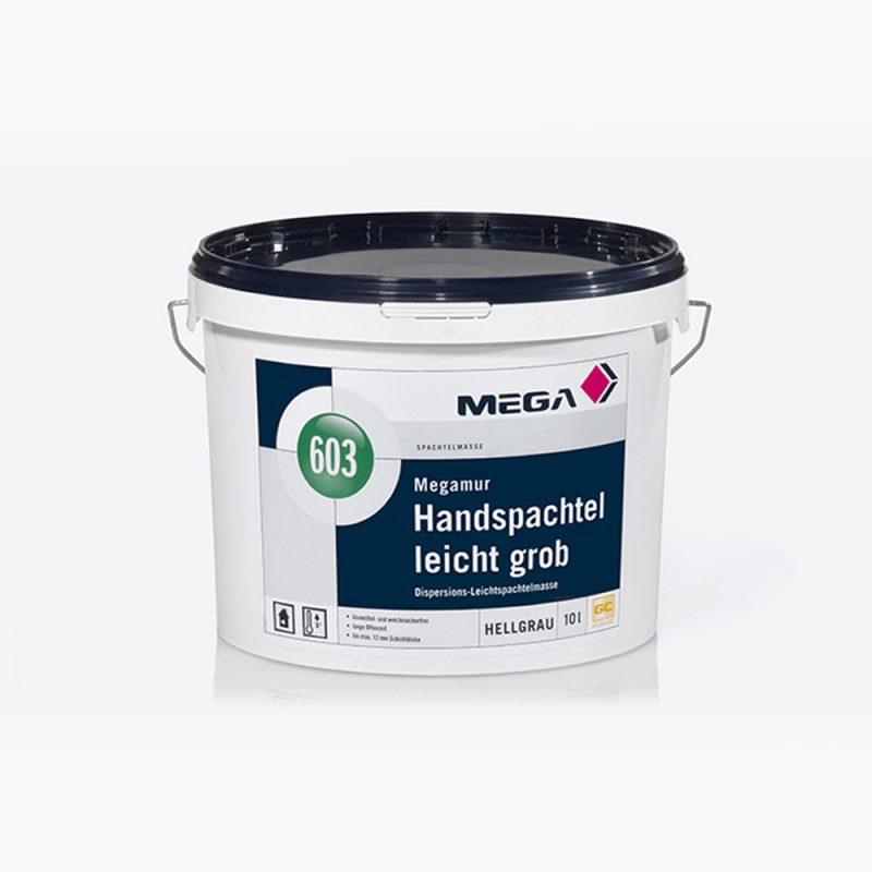 Spachtelmasse Megamur Handspachtel leicht grob 603 Dispersions Leichtspachtelmasse Mega