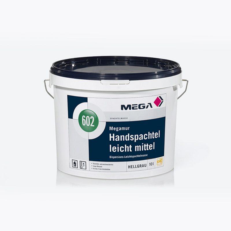 Spachtelmasse Megamur-Handspachtel leicht mittel 602 Dispersions-Leichtspachtelmasse Mega
