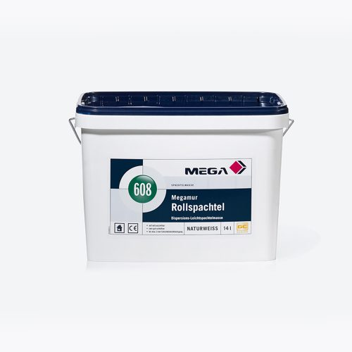Spachtelmasse Megamur Rollspachtel 608 Dispersions-Leichtspachtelmasse Mega