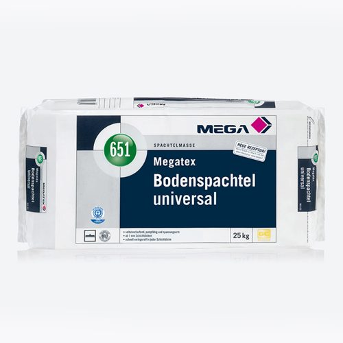 Spachtelmasse Megatex Bodenspachtel Universal 651 Mega