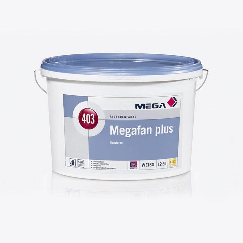 Fassadenfarbe Megafan Plus 403 Hausfarbe Mega