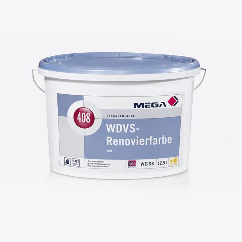 Fassadenfarbe WDVS-Renovierfarbe 408 matt Mega