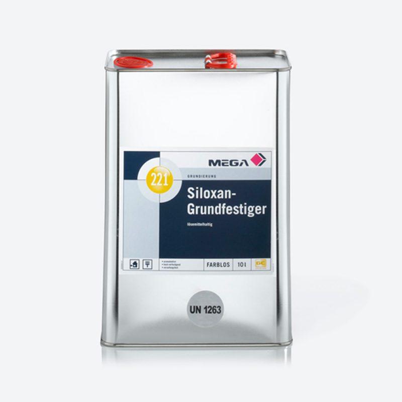 Grundierung Siloxan-Grundfestiger 221 lösemittelhaltig Mega