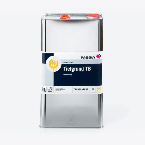 Grundierung Tiefgrund TB 220 lösemittelhaltig Mega
