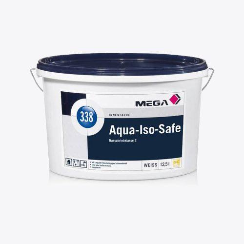 Innenfarbe Aqua Iso Safe 338 Nassabriebklasse 2 weiss Mega