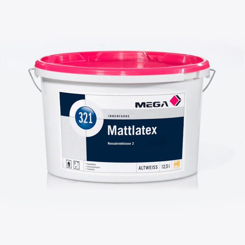 Innenfarbe Mattlatex 321 Nassabriebklasse 2 Mega