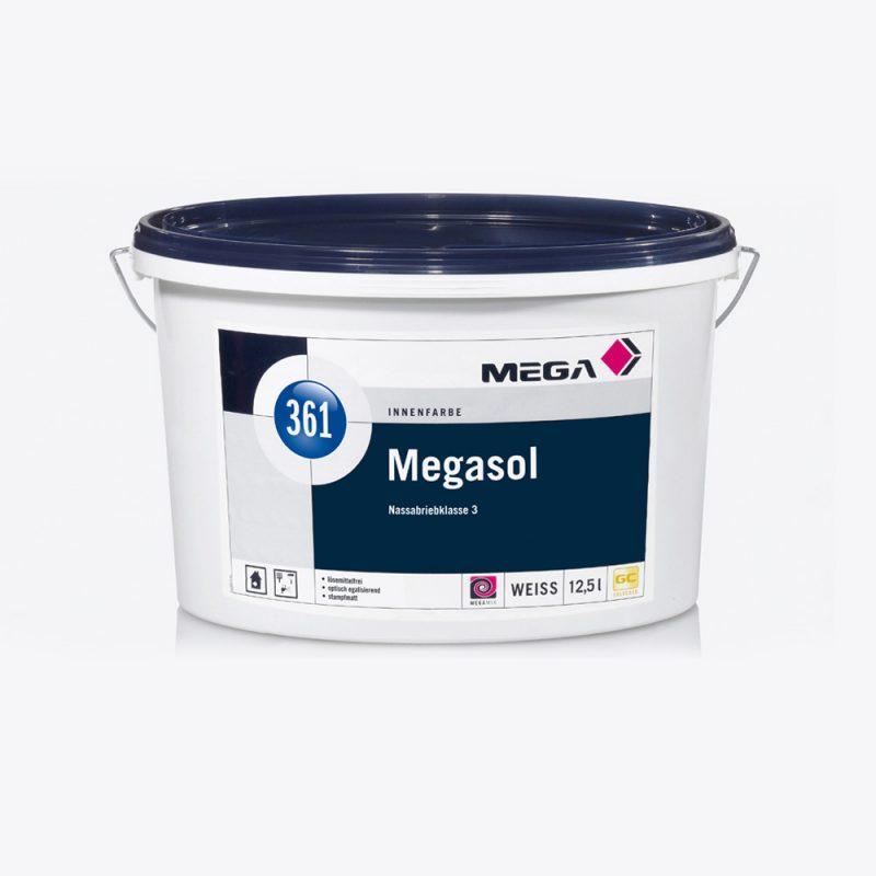 Innenfarbe Megasol 361 Nassabriebklasse 3 weiss Mega