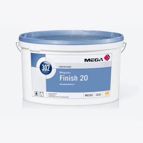 Innenfarbe Megatex Finish 20 302 Nassabriebklasse 1 Mega