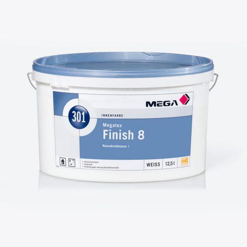 Innenfarbe Megatex Finish 8 301 Nassabriebklasse 1 Mega