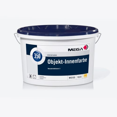 Objekt Innenfarbe 350 Nassabriebklasse 3 weiss Mega