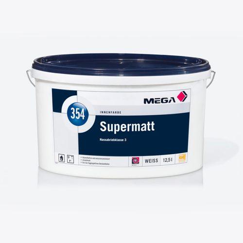 Innenfarbe Supermatt 354 Nassabriebklasse 3 weiss Mega