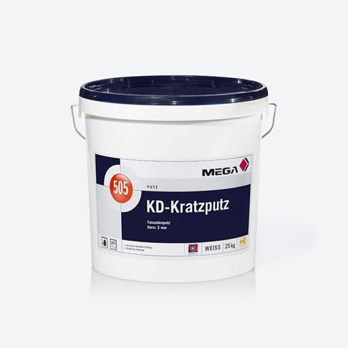 Putz KD-Kratzputz 505 Fassadenputz Mega