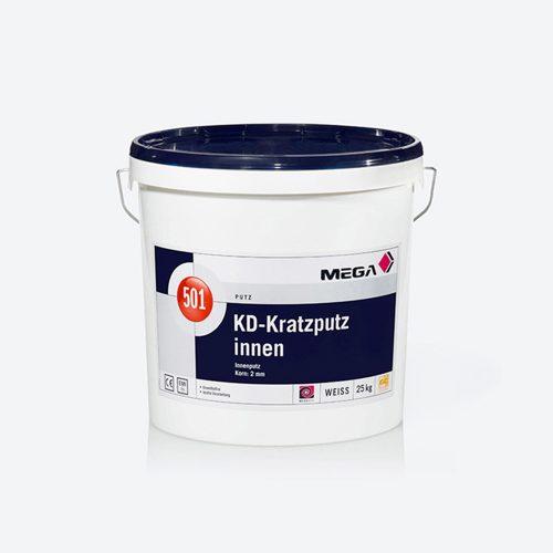 Putz KD-Kratzputz innen 501 innenputz Korn Mega